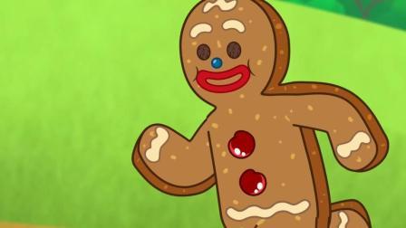 儿童动画英语——姜饼人的故事