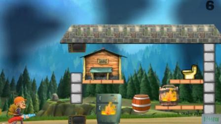 熊出没之夏日团团转之光头强灭火动画玩具视频