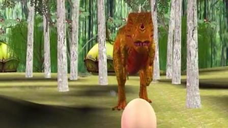 恐龙总动员玩具之恐龙妈妈大冒险动画玩具视频