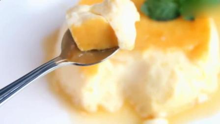 一款懒人鸡蛋布丁, 不用烤箱, 简单一步到位, 有食欲