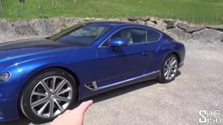新款宾利欧陆GT屏幕翻转一刻, 才明白500万花在哪里了