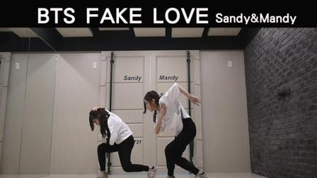 Fake Love BTS dance cover by Sandy Mandy