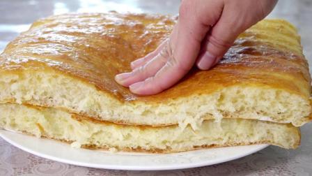 这才是懒人版的面包做法, 蓬松宣软有窍门, 从不下厨的人也会做