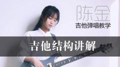 金子吉他弹唱教学 前言 吉他结构讲解
