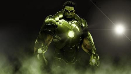 复仇者联盟3: 绿巨人钢铁侠合体战斗力爆表
