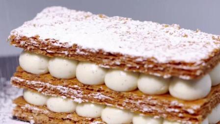 法式甜点: 拿破仑, 酥脆可口