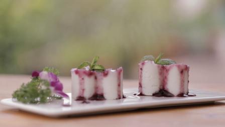 星级大厨教你正宗蓝莓山药泥,只要一只蒸锅就能做,真是长见识