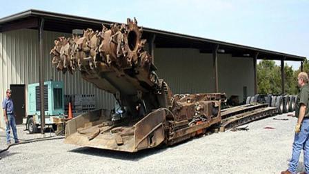 翻新一台大型连续采矿机到底有多复杂? 网友: 有钱买谁还想翻新?