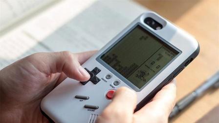 世界上最奇葩手机壳, 内置俄罗斯方块, 没电也能玩游戏!