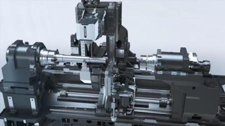 德国机械帝新型机床展示, 又是熟悉的DMG背景音乐, 我听了好几次
