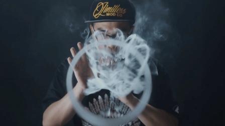 蒸汽娱乐圈-电子烟烟圈教程-我吐你看之花式烟圈二