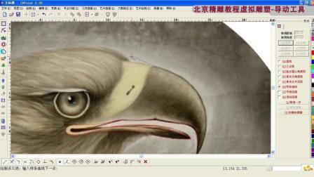北京精雕视频教程之导动去料基础 (1)