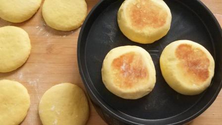 2个鸡蛋一碗面, 不用烤箱, 不用油, 可以做出比面包还好吃的美食