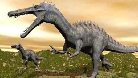 恐龙动画片 侏罗纪恐龙三角龙翼龙食肉龙卡通 晶晶解说