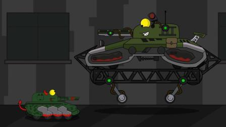 """坦克世界欢乐动画: 能击败利维坦的, 也只有这个""""磁能坦克""""了!"""
