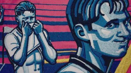 BBC为了世界杯宣传片制作了1200米长的刺绣挂毯