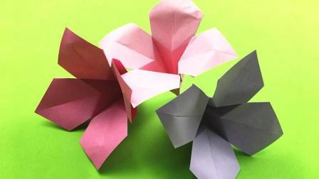 3分钟教你怎么学会折美丽的水仙花, 做好后用来装饰你的小屋!