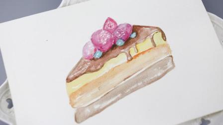 怎么画漂亮的蛋糕