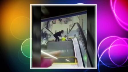 一组电梯发生的监控视频, 带孩子的家长一定要注意了