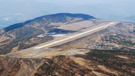 厉害了! 我国这一飞机场, 花费了8亿, 挖平23条山沟建成的
