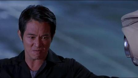 《宇宙追缉令》  邪恶李连杰单手抡摩托秒