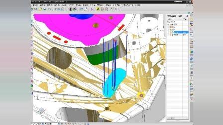 UG编程-汽车门板精加工、顶尖优化刀路, 做编程的尊严