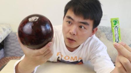 口香糖能开椰子? 那么这种椰王也能开吗?