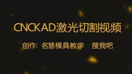 CNCKAD 10.0 手工自动排序 激光切割数冲编程培训系列视频教程