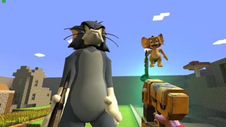 GMOD游戏汤姆猫变大后打得赢杰瑞鼠吗?