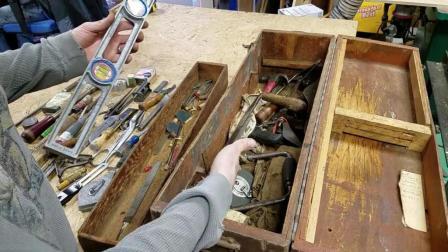 1930年木匠的工具箱都有啥? 这工具过80年还能用都能当传家宝了!