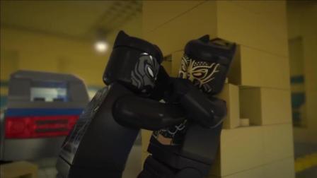 复联3还在热映, 爱搞事的乐高就已经拍出 黑豹单挑灭霸 的动画了
