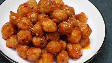 猪肉丸子换一种做法, 这么做的小丸子跟普通的完全不一样, 非常好吃
