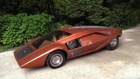 1970年意大利蓝旗亚制造的概念车, 车身极低需要躺着驾驶