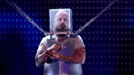 2018英国达人秀半决赛: 他会逃脱吗——马特·约翰逊采取威胁生命的表演!