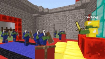 大海解说 我的世界Minecraft 僵尸战争谁是最强僵尸王