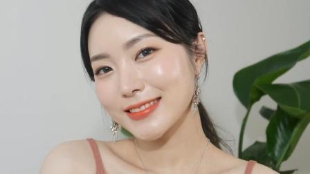 【丽子美妆】中文字幕 Coco Riley-优雅橘色妆容教程