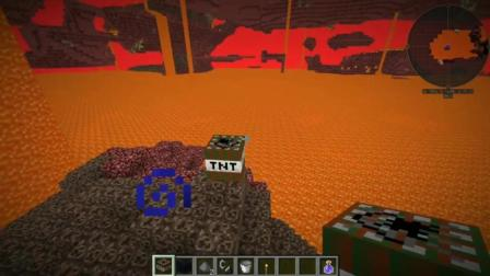 我的世界33: 树林TNT在地狱引爆, 会把岩浆覆盖长出树林么?