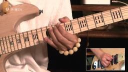 纪斌电吉他教学《打狗棒法》第二十八章  推弦应如何消除下降音