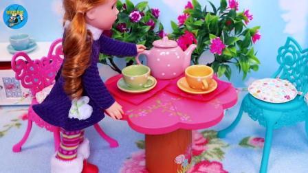 甜甜的茶桌真漂亮, 甜甜做冰激凌, 悠悠玩具城