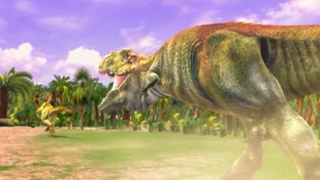 虹猫蓝兔恐龙世界 第10集 霸王龙的速度到底有多快