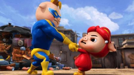 12星座和猪猪侠里面的哪个角色最像? 狮子座是超人强, 最厉害!