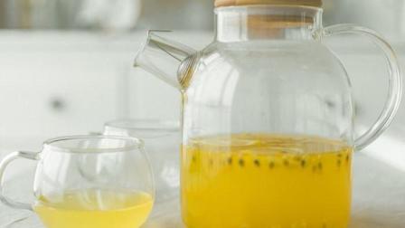 懒人自制减肥饮品, 蜂蜜百香果柠檬茶减肥, 美容, 开胃必备