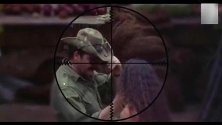 超经典狙击电影 狙击手到底有多可怕, 只战场士兵才能感受他的恐怖长官瞬间被击毙
