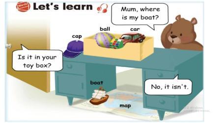 小学英语三年级下册Unit 4 课本第九课