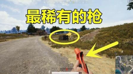 绝地求生: 这把枪打一下, 就能变出来100发子弹, 比AWM还稀有10倍!