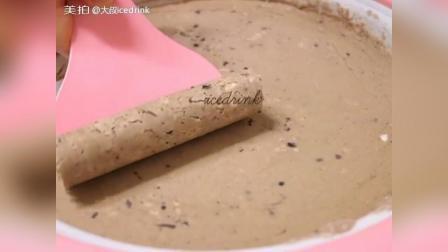 奥利奥巧克力酱香蕉炒冰淇淋卷