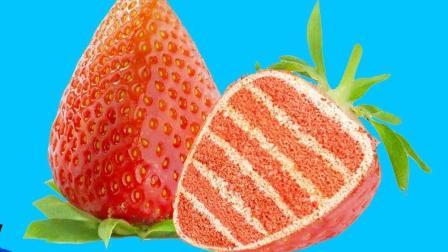 闺蜜礼物DIY: 恶作剧DIY趣味生日蛋糕, 脑洞大开的草莓创意