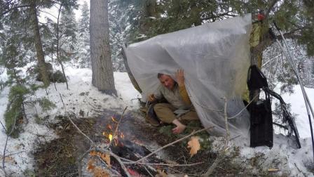 能装进口袋里的野外庇护所, 让你分分钟在野外活下来!