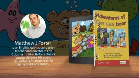 Adventures of Can Can bear - children's story