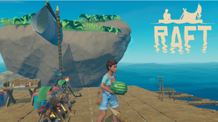 【五橙海上漂流记】Raft#4登岛难, 难于上青天